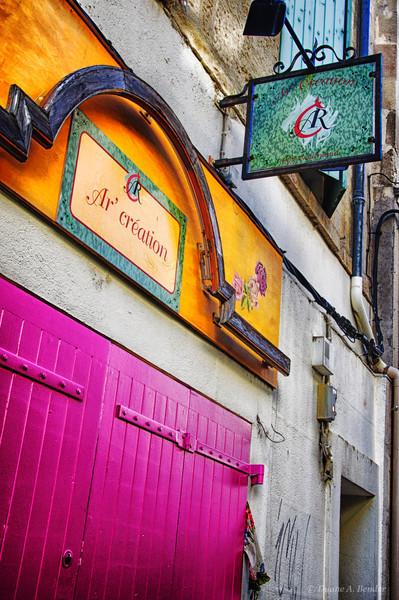 Streets of Provence Region