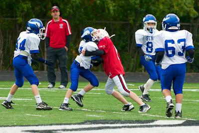5th Grade vs. St. Regis 10-6-12