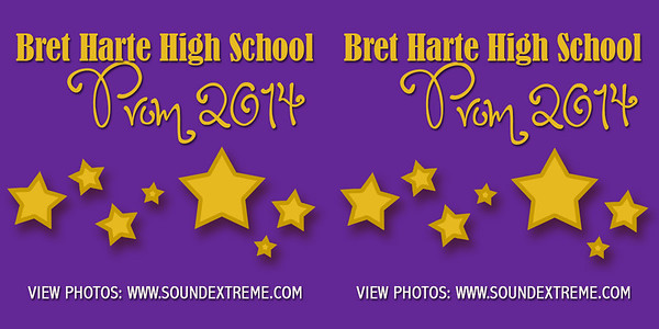Bret Harte High Prom 2014