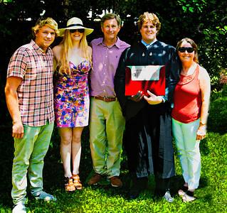 Boston and Evan's Graduation from Harvard