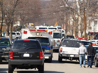 03-03-08 Lyndhurst, NJ - Working Fire