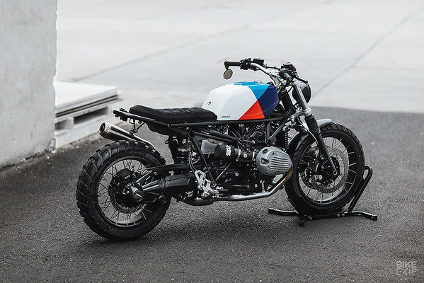 A SCRAMBLER KIT FOR THE BMW R NINE T