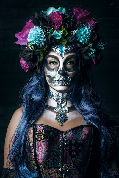 Day of the Dead Steampunk Style - October 2017 PV