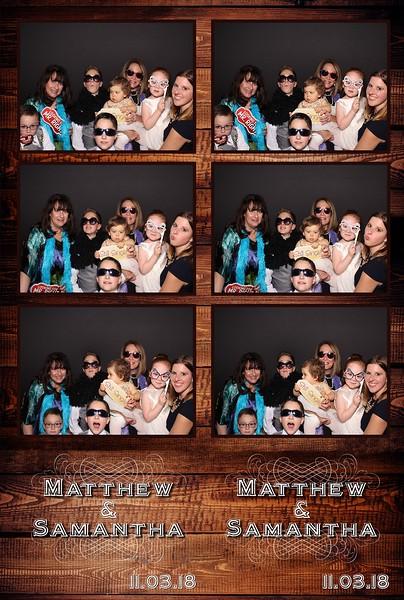 Matthew & Samantha's Wedding (11/03/18)