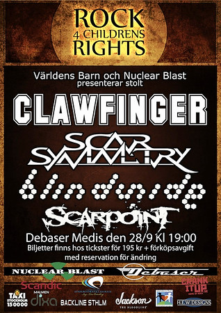 SCARPOINT - Debaser Medis 28/9 2011