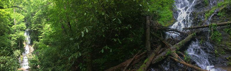 Auger Fork & Maple Spring Branch Falls