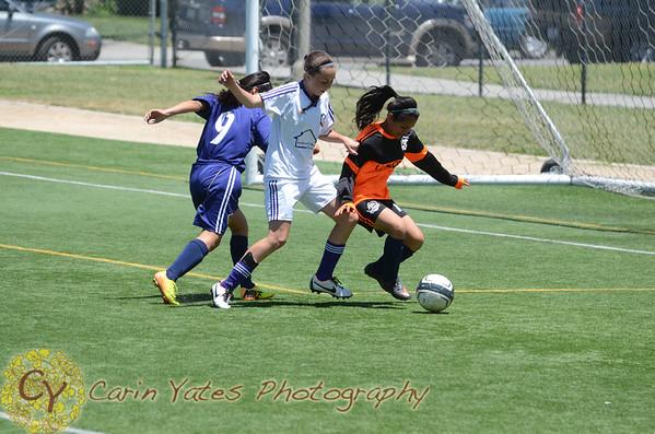 LA Premier Girls U14 Soccer 2014-15