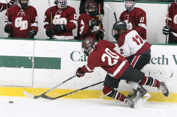 Fitchburg Monty Tech Groton-Dunstable hockey 021921