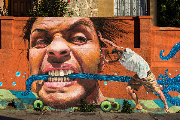 2014 Valparaiso Street Art - Part 1
