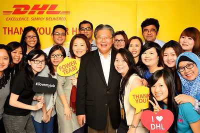 CEO DHL AP Thank You Party