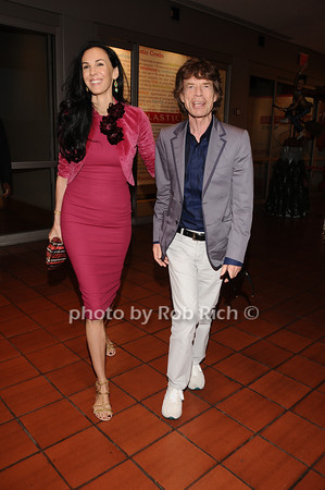 L'wren Scott & Mick Jagger photo by Rob Rich/SocietyAllure.com © 2010 robwayne1@aol.com 516-676-3939
