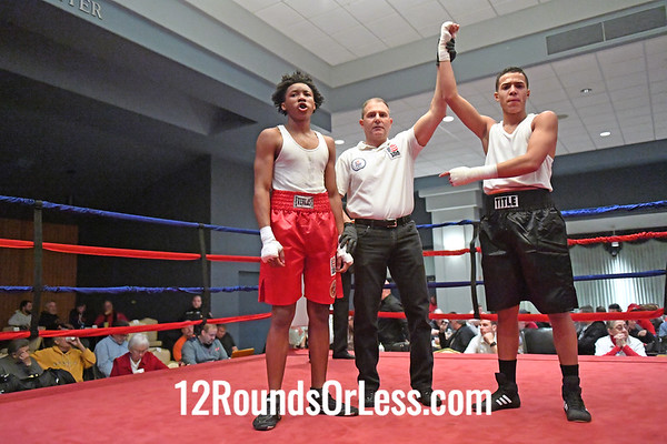 Ama-Bout 3 Kevin Lopez, Blue Gloves, Cleveland -vs- Levester Harris, Red Gloves, Southside BC, 140 Lbs