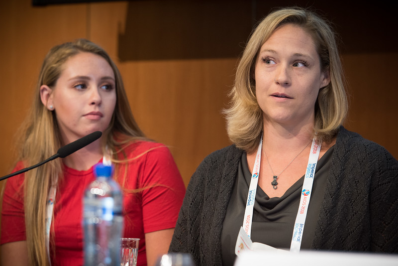 22nd International AIDS Conference (AIDS 2018) Amsterdam, Netherlands   Copyright: Marcus Rose/IAS  Photo shows: The 4th HIV Exposed Uninfected (HEU) Child and Adolescent Workshop.  Stephanie McCann, United States