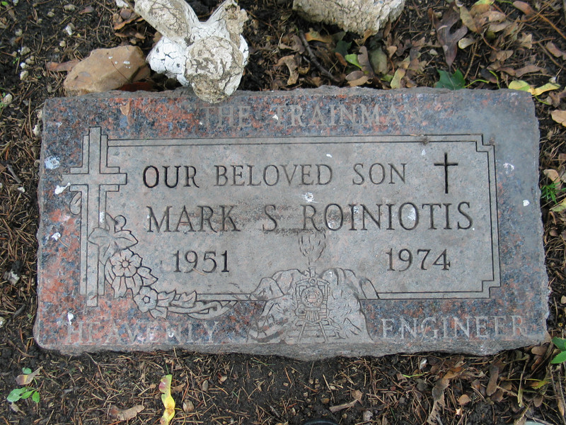 Mark S. Roiniotis  (The trainman heavenly engineer)