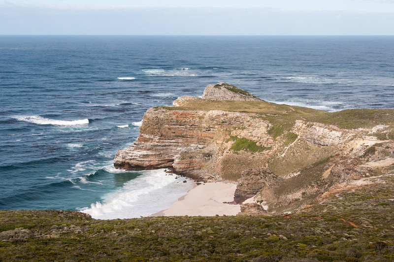Cliff at Cape Point in South Africa