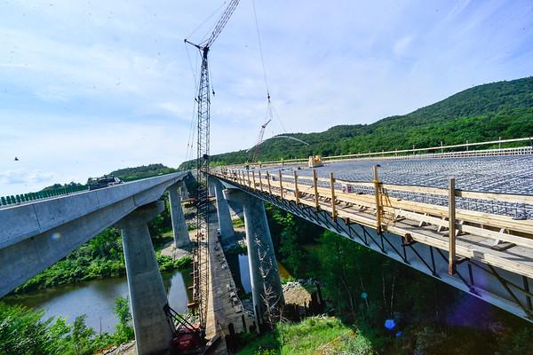 I-91 Bridge work - 081420