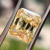 5.35ct Fancy Brownish Yellow Emerald Cut Diamond, GIA SI2 4