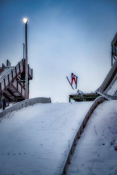 Young  Ski Jumper