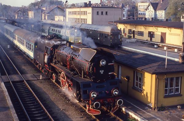 Inter Rail 10th - 25th October 1994