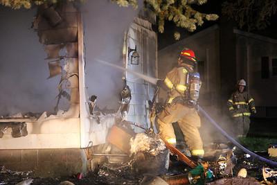 House Fire, 2 Maple Avenue, Barnesville (9-27-2013)