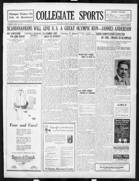 The Southern California Trojan, Vol. 15, No. 86, May 16, 1924