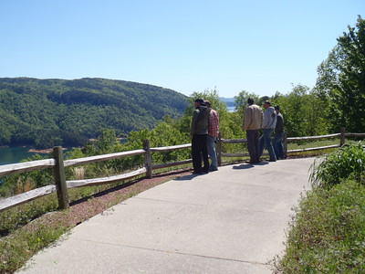 2012-04-12 Whitewater River, NC, hike to Tea-cups, Southern Trip