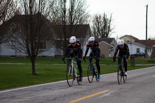 Purdue Cycling, April 2018