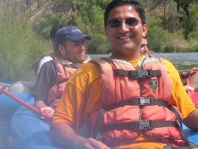 Whitewater rafting July 2007