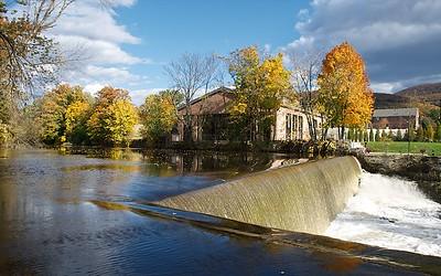 Beacon, Fishkill Creek Falls 2012-10  +  VIDEO