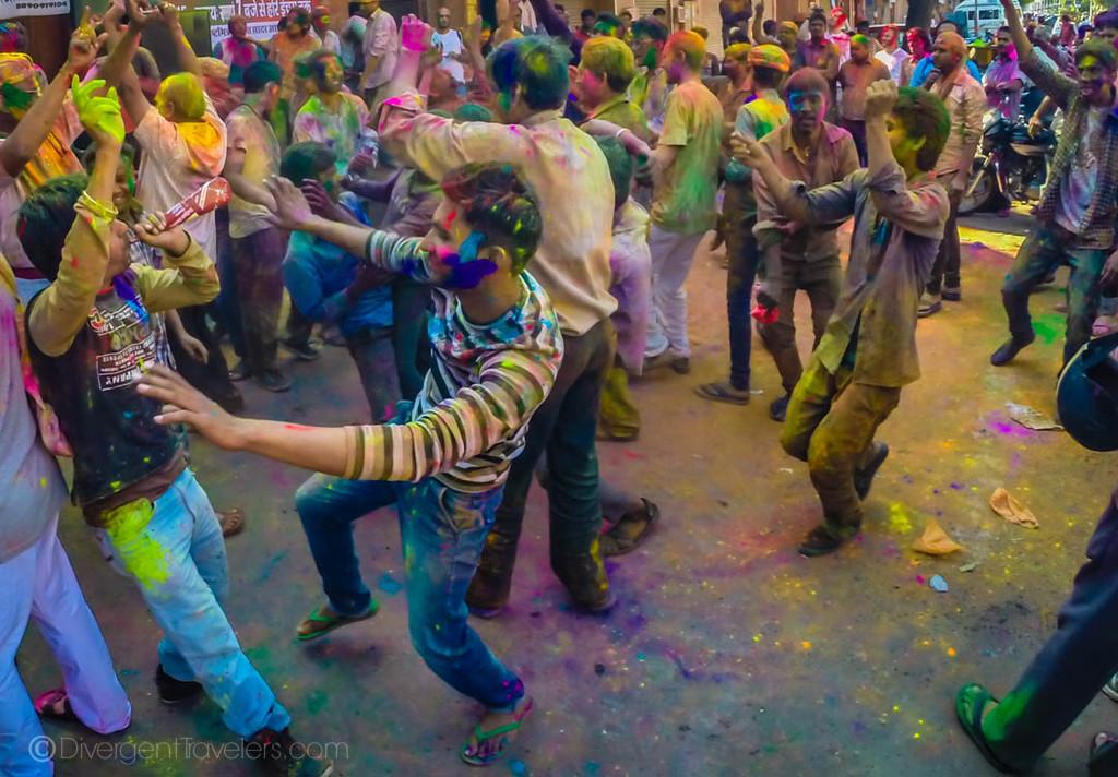 India Photos Holi Festival