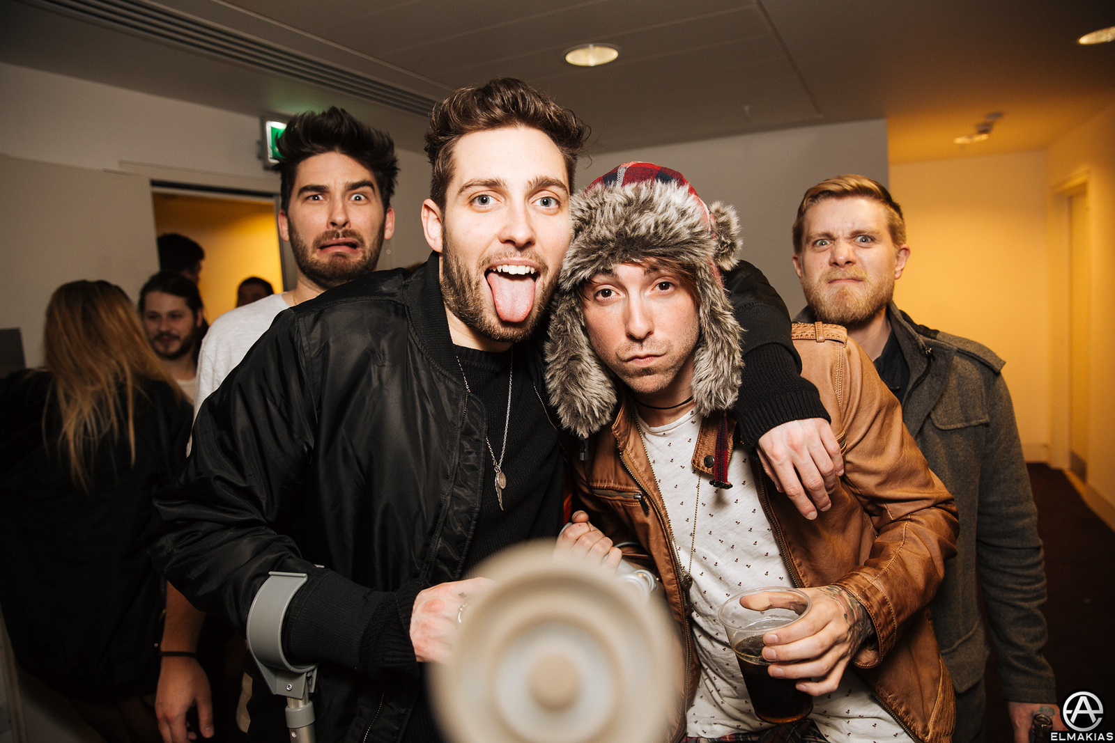 Josh of You Me At Six and Alex of All Time Low