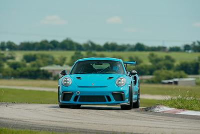 6 Blue Porsche 911 GT3 RS