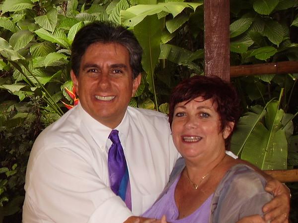 Minister Juan Enrique & Member Vicki Skinner after a Unity South Lake Tahoe, California members Wedding!
