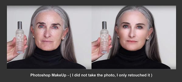 Mature Woman Makeup