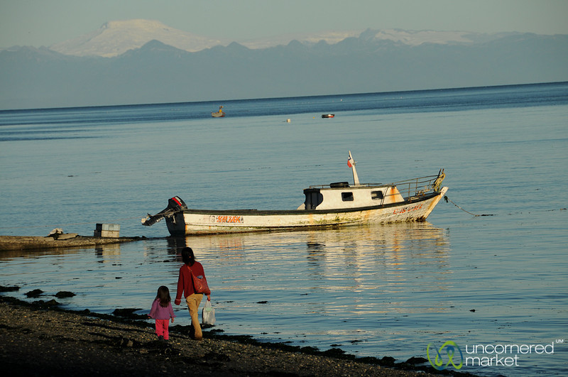 Late Afternoon Sunlight in Tenaún - Chiloe Island, Chile