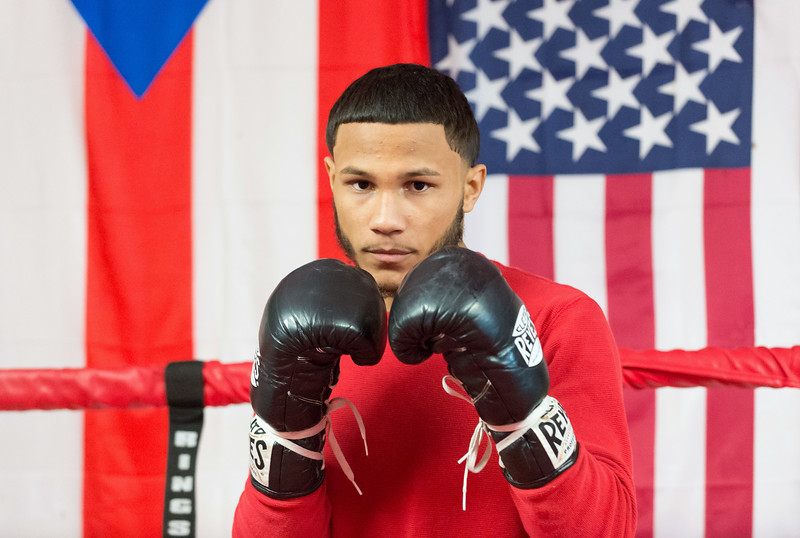 01/24/19  Wesley Bunnell | Staff  New Britain resident Nathan Martinez will be fighting in his second professional boxing match this Saturday evening at the Mohegan Sun Casino.