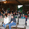A good-sized crowd populated the barn well before the scheduled 7:30 p.m. meeting.
