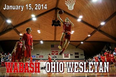 2014 Wabash at Ohio Wesleyan (01-15-14)