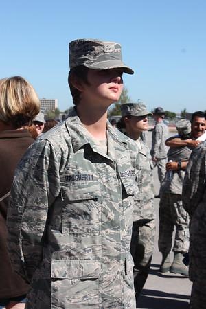 10.2014 Anna graduates from AF BMT