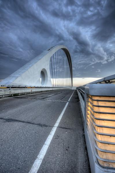 Vele di Calatrava, Central Bridge - Reggio Emilia, Italy - October 14, 2012