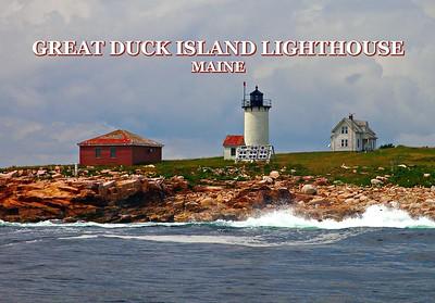 Great Duck Island Lighthouse, Maine