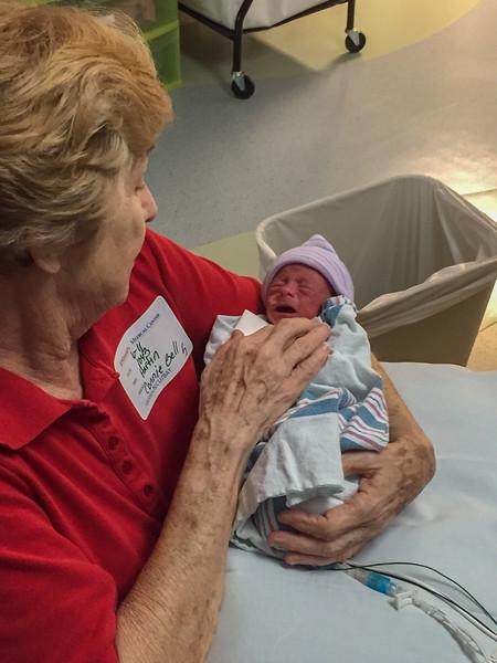 Barrett and Grandma