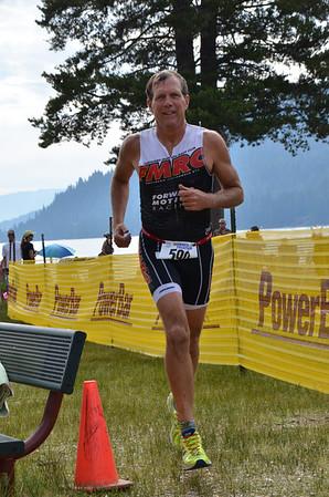 Donner Lake Triathlon 2014 Olympic and Half Run