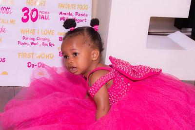 Zada Ajibaye's 1st Birthday