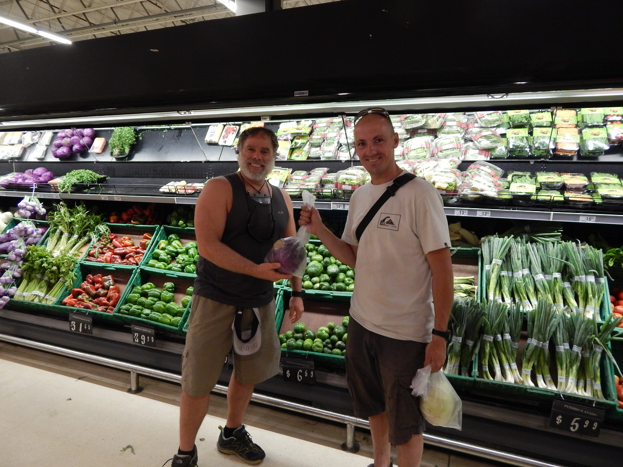 Shopping for mountain food
