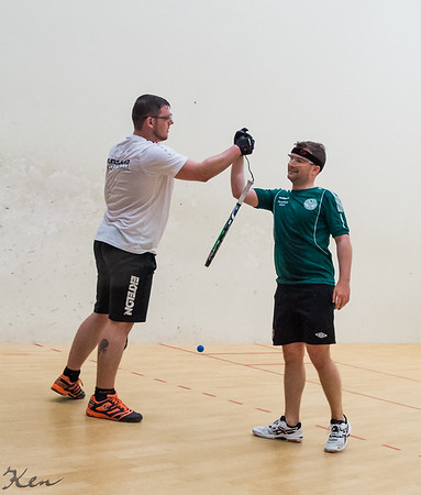 Johnny O Keeney (Ireland) over Andre Dietrich (Germany) Team