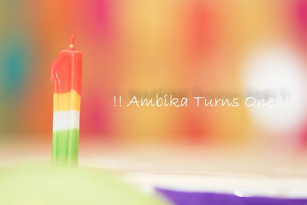 Ambika Rai Turns 1