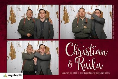 Raila + Christian - Photo Booth