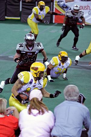 Indoor Football: Alaska Wild vs. Stampede Express