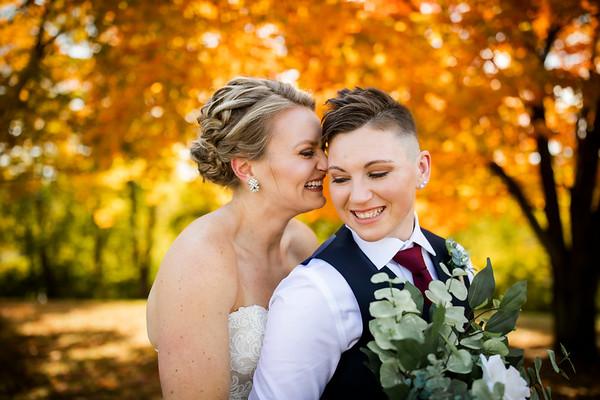 Kelsey + Jaimie: Wedding